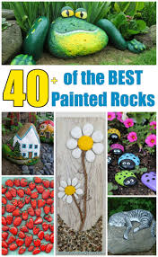 Painting Rocks To Look Like Animals