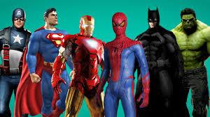 finger family rhymes for children spiderman ironman batman hulk cartoons nursery rhymes collection batman superman iron man