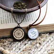 create your own long pendant necklace