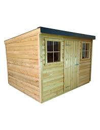 pent garden sheds with metal roof pent