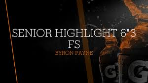 "Senior Highlight 6""3 FS - Byron Payne highlights - Hudl"