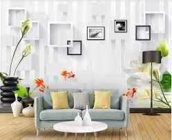 3d Wallpaper Custom Photo Mural Simple ...