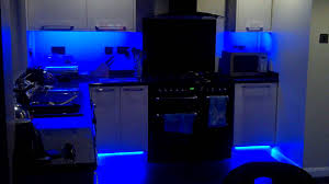Kitchen Led Lights My New Colour Changing Led Kitchen Lights Youtube