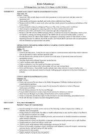 customer service representative resumes client services representative resume samples velvet jobs
