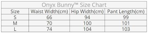 Buckle Size Chart Cargo High Waisted Buckle Pants