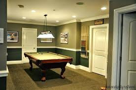 basement pool table. Plain Basement Pool Table Room Decorating Ideas Decorations For Basement With Green D  Over Cone White And Basement Pool Table T