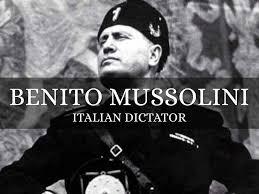「1929 italy leader mussolini」の画像検索結果