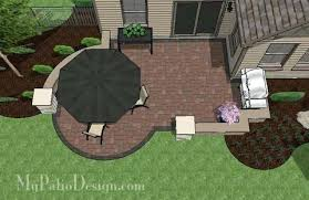 backyard design online. Design Your Backyard Budget Friendly Patio With Seat Wall 2 Virtual Online .