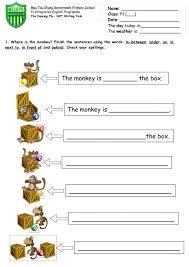 Kindergarten Kindergarten Preposition Worksheets Image ...
