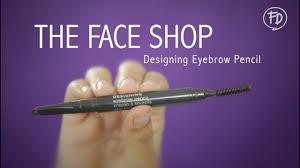 The Face Shop Designing Matte Eyebrow Pencil 60 Seconds Report The Face Shop Designing Eyebrow Pencil