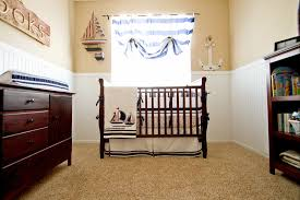 i chose a nautical theme this time for my sweet summer baby luckily pottery barn kids had the perfect bedding i love the classic timeless look