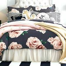 pink and black duvet covers post single