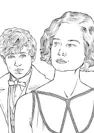 Projects Design Fantastic Beasts Coloring Pages Kids N Fun Com Page