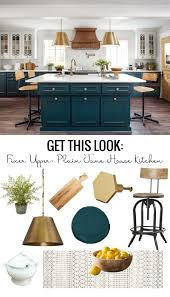 Remodelaholic Get This Look Fixer Upper Plain Jane House Kitchen