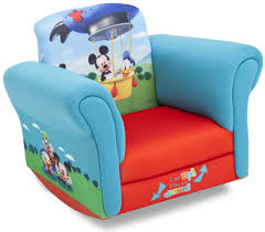 children chairs best of disney upholstered child s mickey mouse rocking chair