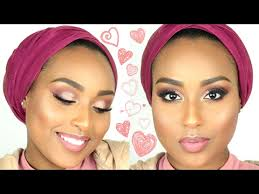 fifty shades of pink valentines day makeup tutorial aysha abdul