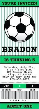 Soccer Party Invitation Template Soccer Birthday Party Invitations Free Salabs Pro