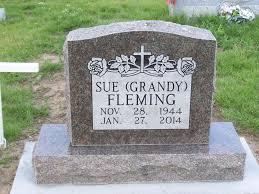 Priscilla Sue Grandy Fleming (1944-2014) - Find A Grave Memorial