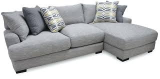 2 piece sectional with chaise 2 piece sectional with chaise in fog local furniture milano
