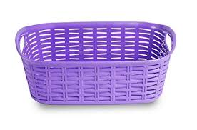 All Time <b>Plastics</b> Rattan <b>Plastic</b> Shelf Basket - 26.5 cm x 20 cm x <b>9.5</b> ...