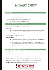 template for chronological resume chronological resume format 2017