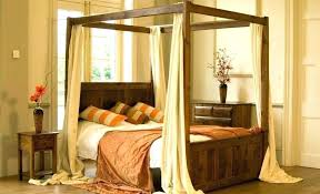 wood four post bed – microdirectory.info