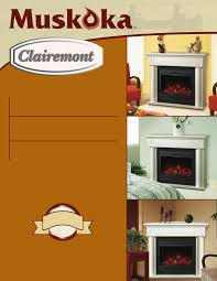 greenway home s mef2822cwg indoor fireplace user manual