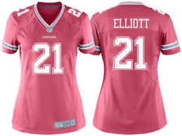 21 Jersey Pink Game Ezekiel 888841404573 Dallas Elliott Medium Women's Cowboys Nfl Ebay