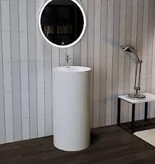free standing sink. Image Is Loading Bathroom-Pedestal-Sink-Freestanding-Pedestal-Sink-Modern- Sink- Free Standing Sink C