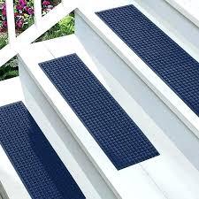 outdoor step tread mats white stair green home design ideas