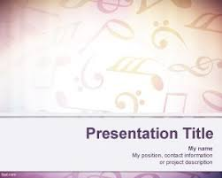 Music Powerpoint Template Free Sheet Music Background For Powerpoint
