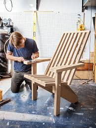 modern adirondack chair plans. Delighful Adirondack Contemporary Adirondack Chair Plans From Popular Mechanics Throughout Modern Chair H