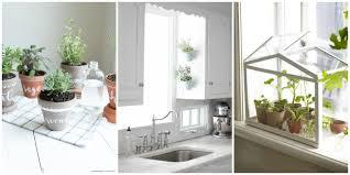 indoor kitchen garden. Indoor Herb Garden Container Ideas \u2013 Attractive Plant Wall Kitchen B