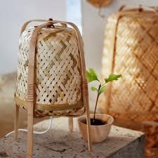 Ikea Knixhult Table Lamp Bamboo