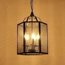 mesh chandelier dark brushed bronze wire mesh drum pendant light