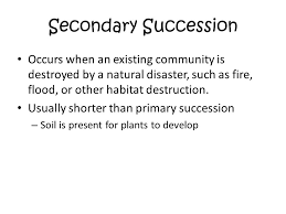 Primary And Secondary Succession Venn Diagram Warm Up Complete The Following Venn Diagram In Your Composition Book
