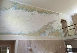 Nautical Chart Wall Mural