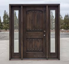 wood entry doors. Exterior Doors With Sidelights Wholesale Clearance Wood Entry D