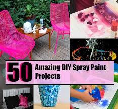 50 amazing diy spray paint projects