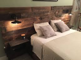 king size head board rustic wood headboard distressed headboard reclaim cabinets usb