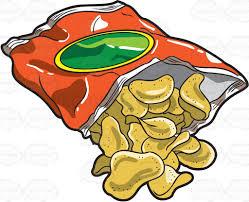 bag of potato chips clipart. Plain Clipart A Bag Of Crunchy Potato Chips In Bag Of Potato Chips Clipart O
