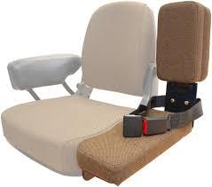 side kick buddy seat brown fabric for john deere 2550 4430 4440 9600 tractors