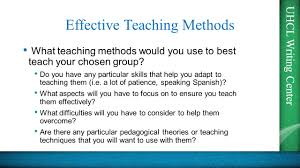 uhcl writing center tep essays presented by the uhcl writing uhcl writing center effective teaching methods what teaching methods would you use to best teach your