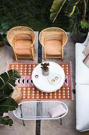 small space outdoor furniture to