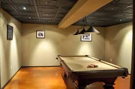 basement drop ceiling ideas. Perfect Basement Basement Drop Ceiling Ideas Lighting Intended S