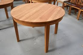 round 110cm x 110cm solid european oak table 379 reduced to just 349