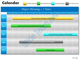 power point gant chart 5 year planning gantt chart powerpoint slides gantt ppt templates