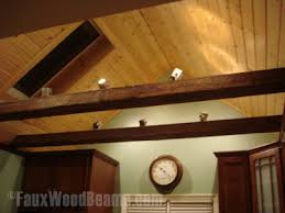 lighting for beams. Track Lighting In Beams Adds Versatility For L