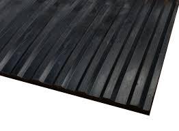 wide rib corrugated rubber runner mats