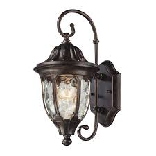 E2 Lighting Inc Glendale 1 Light Outdoor Wall Sconce In Regal Bronze In 2019